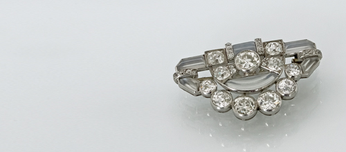 Diamantbrosche