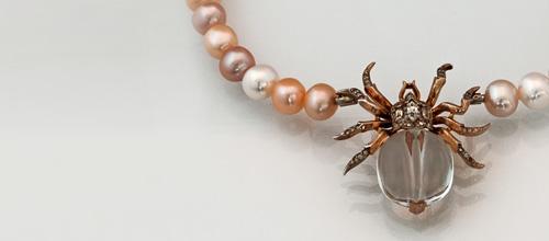 Perlkettenverschluß Käfer